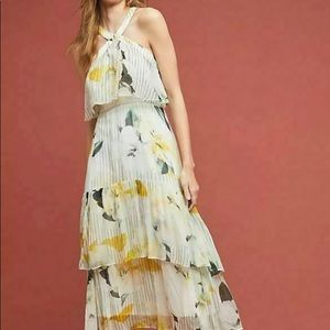 Nwt New $240 Anthropologie Garden Party Dress 8 US